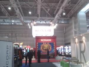 Konami show stand