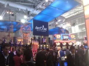 Aristocrat show stand
